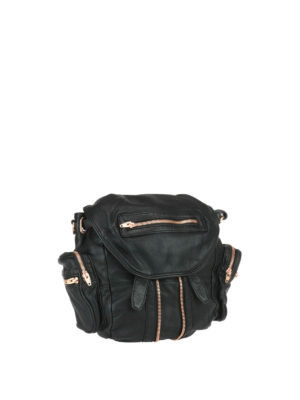 Alexander Wang: backpacks online - Marti leather backpack