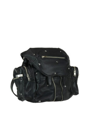 Alexander Wang: backpacks online - Marti Rose multi zip backpack