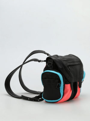 Alexander Wang: backpacks online - Mini Marti colour block backpack