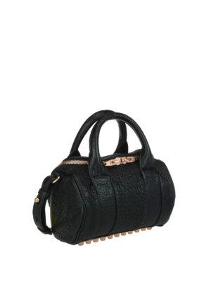 Alexander Wang: bowling bags online - Rockie medium leather bag