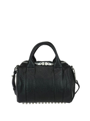 Alexander Wang: bowling bags - Rockie big leather bag