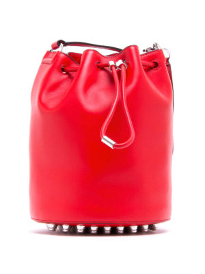 Alexander Wang: Bucket bags - Alpha leather bucket bag