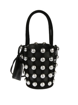 Alexander Wang: Bucket bags - Dome Stud Roxy Mini bucket bag