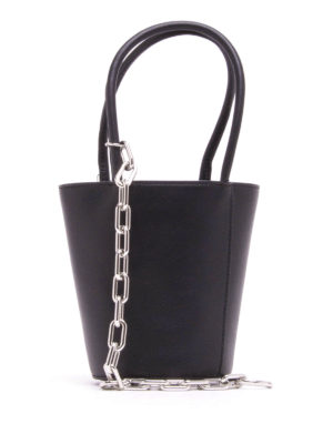 Alexander Wang: Bucket bags - Mini Roxy leather bucket bag
