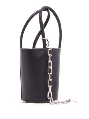 Alexander Wang: Bucket bags online - Mini Roxy leather bucket bag
