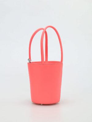 Alexander Wang: Bucket bags online - Roxy Mini fluo leather bucket bag