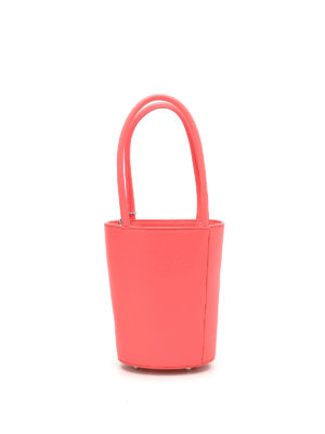 Alexander Wang: Bucket bags - Roxy Mini fluo leather bucket bag