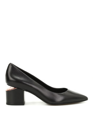 Alexander Wang: court shoes - Simona cut-out heel pumps