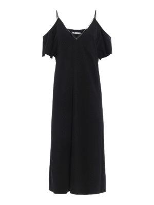 Alexander Wang: knee length dresses - Off the shoulder dress