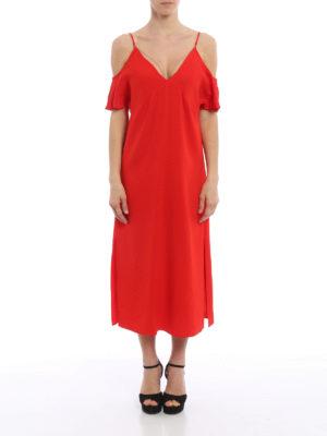 Alexander Wang: knee length dresses online - Off the shoulder dress