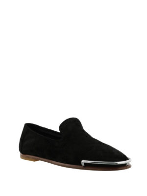 Alexander Wang: Loafers & Slippers online - Kelsie metal toe guard slippers