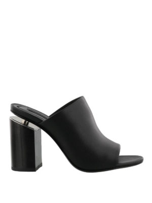 Alexander Wang: mules shoes - Avery leather mules