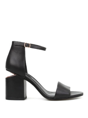 Alexander Wang: sandals - Abby leather sandals