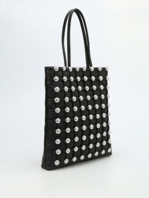 Alexander Wang: totes bags online - Dome maxi studs tote