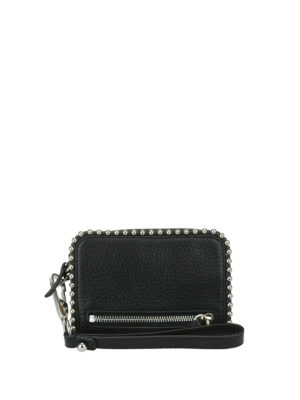Alexander Wang: wallets & purses - Fumo L studded leather wallet