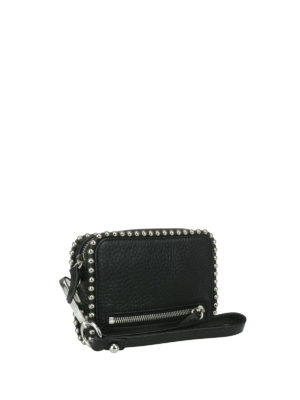 Alexander Wang: wallets & purses online - Fumo L studded leather wallet