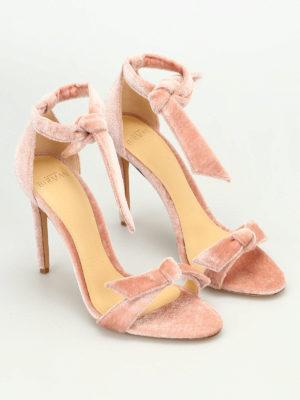 Alexandre Birman: sandals online - Clarita velvet sandals