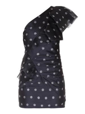 ALEXANDRE VAUTHIER: short dresses - One-shoulder satin dress