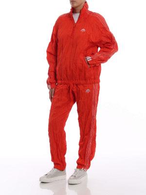 ALJA: giacche casual online - Giacca a vento arancione stropicciata