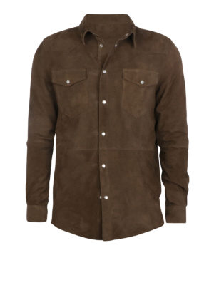 Altea: leather jacket - Shirt style leather jacket