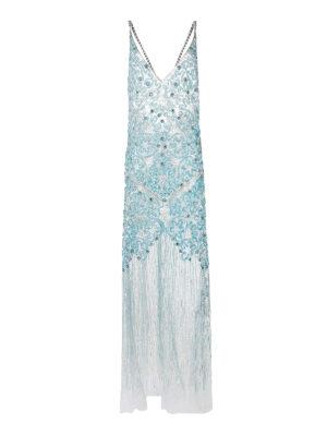 Amen: evening dresses - Jewel embellishment sheer gown