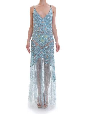Amen: evening dresses online - Jewel embellishment sheer gown