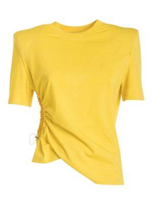 Amen: t-shirts - Structured shoulder T-shirt