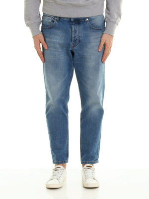 Ami Alexandre Mattiussi: straight leg jeans online - Carrot jeans