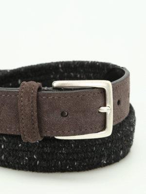Anderson's: belts online - Melange woven fabric belt