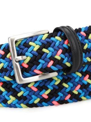 Anderson's: belts online - Super Neon stretch belt