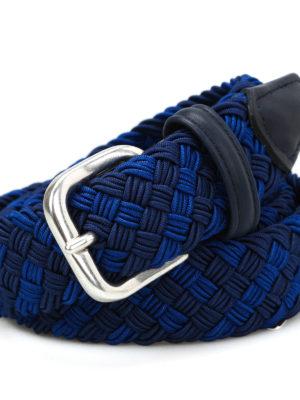 Anderson's: belts online - Woven elastic fabric belt