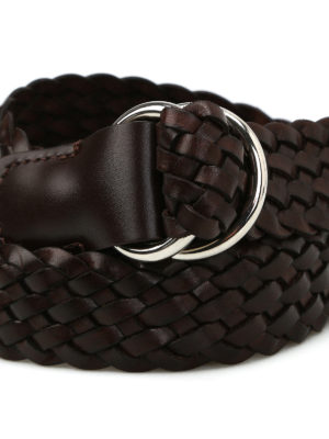 Anderson's: belts online - Woven leather belt