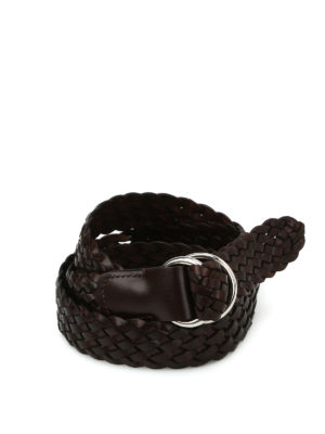 Anderson's: belts - Woven leather belt