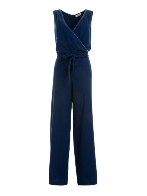 Angelo Marani: jumpsuits - Embellished belted jumpsuit