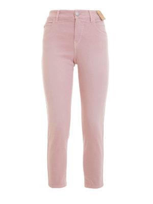 Angelo Marani: straight leg jeans - Denim cropped jeans