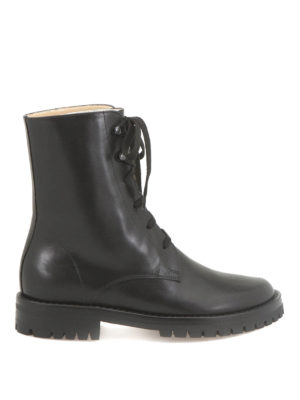 Ann Demeulemeester: boots - Calf leather boots