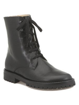 Ann Demeulemeester: boots online - Calf leather boots