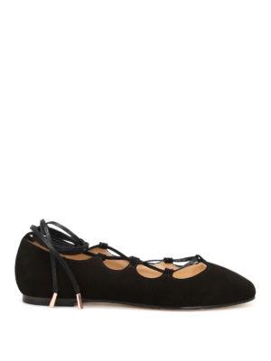 Anna Baiguera: flat shoes - Anny Ghillie ballerinas