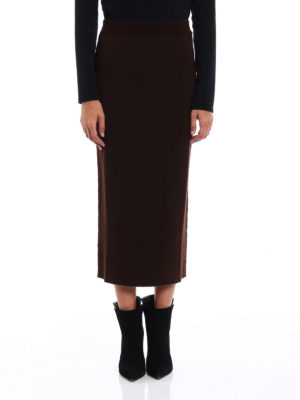 Antonio Marras: Knee length skirts & Midi online - Knit wool reversible pencil skirt