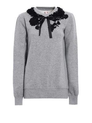 Antonio Marras: Sweatshirts & Sweaters - Embellished cotton sweatshirt