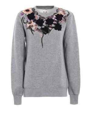 Antonio Marras: Sweatshirts & Sweaters - Embroidered cotton sweatshirt