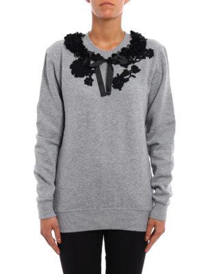 Antonio Marras: Sweatshirts & Sweaters online - Embellished cotton sweatshirt
