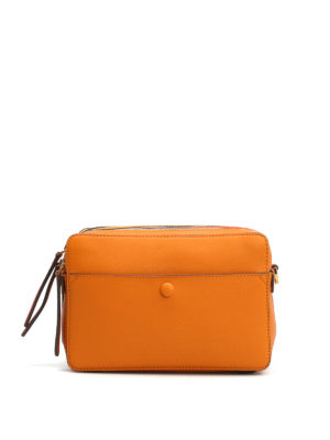 Anya Hindmarch: shoulder bags - Stack multi compartment leather bag