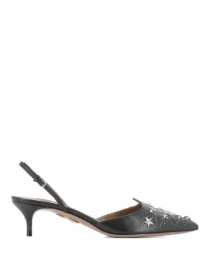 Aquazzura: court shoes - Cosmic Star Sling 45 pumps