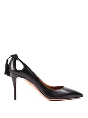 Aquazzura: court shoes - Forever Marilyn 85 pumps