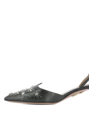 Aquazzura: court shoes online - Cosmic Star Sling 45 pumps
