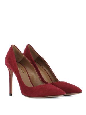Aquazzura: court shoes online - Pointy toe suede pumps