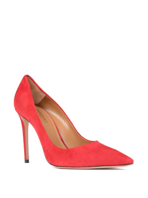 Aquazzura: court shoes online - Simply Irresistible suede pumps