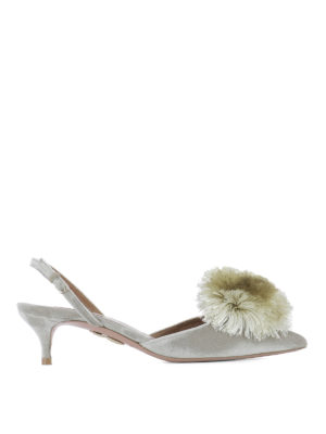 Aquazzura: court shoes - Powder Puff Sling 45 pumps
