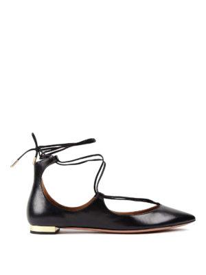 Aquazzura: flat shoes - Christy flats